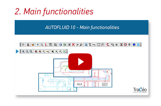 AUTOFLUID 10 Main functionalities - CAD Application compatible with AutoCAD Bricscad and ZWCAD