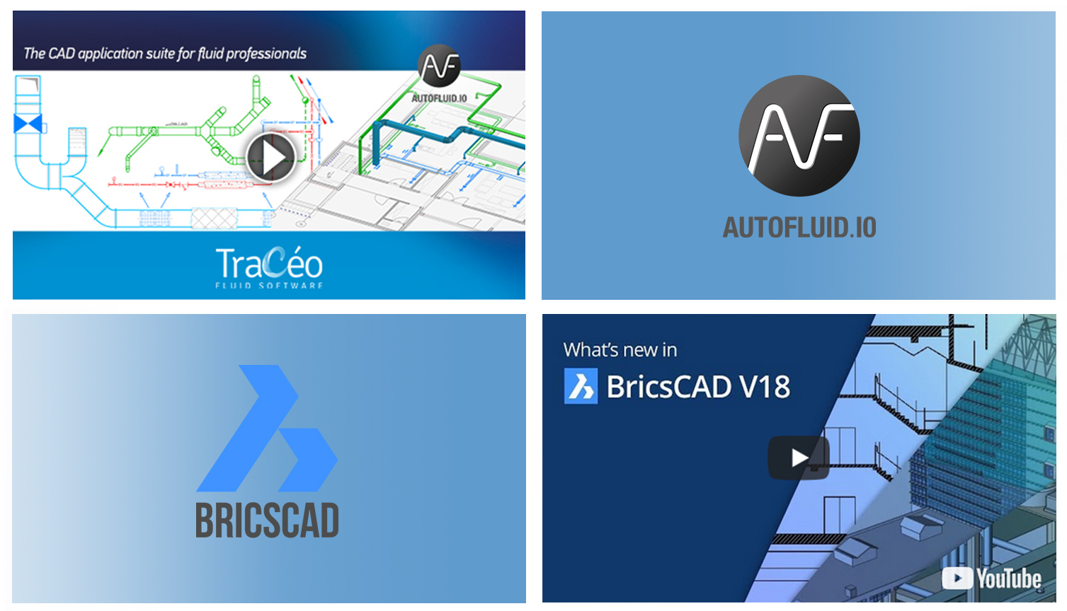 AUTOFLUID 10 is now compatible with BricsCAD V18 – Watch the