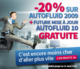 Promotion AutoFLUID mise à jour gratuite