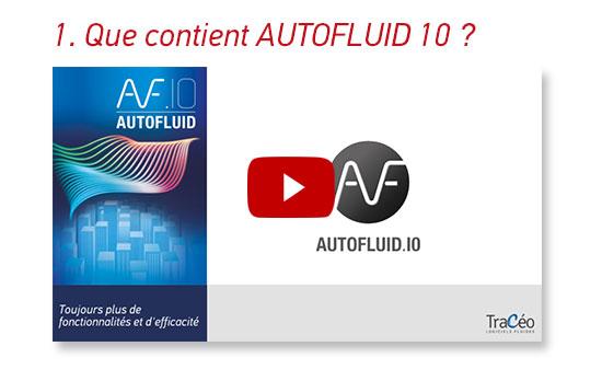 Que contient AUTOFLUID 10 ? Logiciel de dimensionnement de conduites, dessin et calcul de réseaux aérauliques et hydrauliques