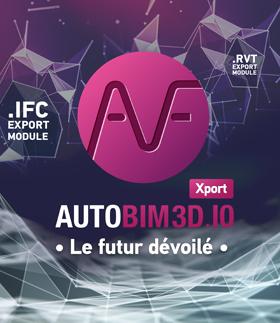 AUTOBIM3D Xport : le futur dévoilé - promotion de lancement