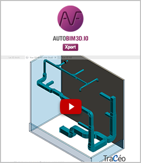 Video AUTOBIM3D Xport : Export in IFC the 3D HVAC networks
