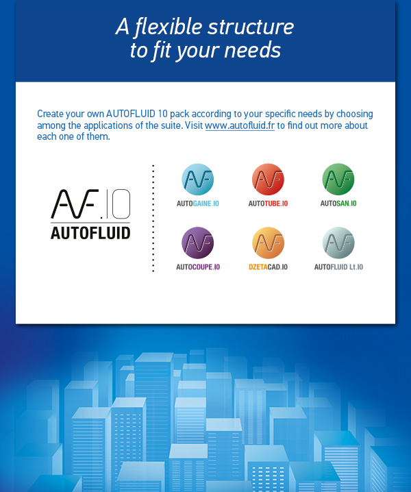 Pre-order AUTOFLUID 10 now - CAD application for HVAC and plumbing networks design