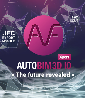 AUTOBIM3D Xport: the future revealed - 25% discount