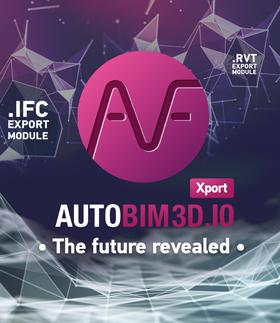 AUTOBIM3D Xport: the future revealed - 25% discount