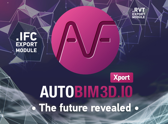 Disount AUTOFLUID - AUTOBIM3D Xport: the future revealed