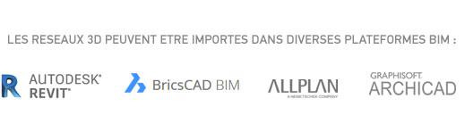 Logiciels BIM compatibles AUTOFLUID